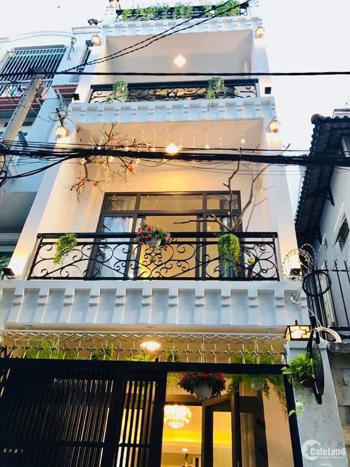 Bán nhà hẻm 409/ Nguyễn Oanh, 73m2, 4 tầng, 7,8 tỷ