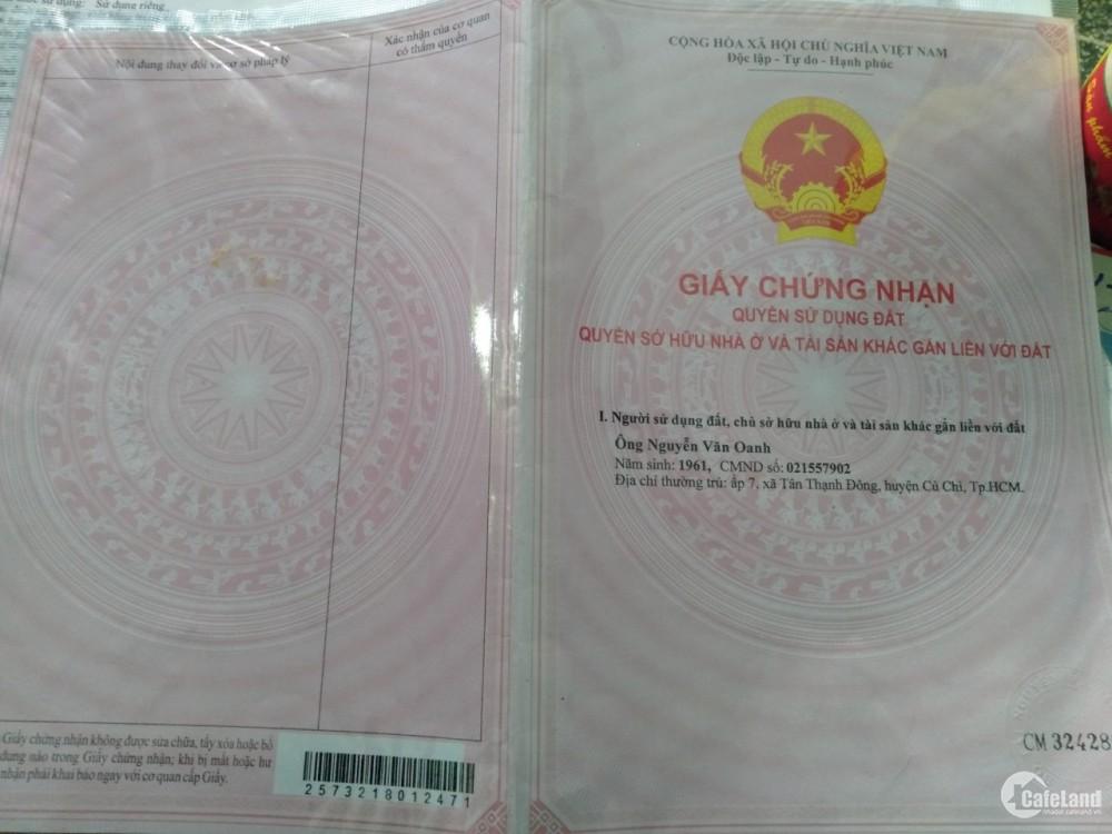 Bán nhà chính chủ tại X. An Tịnh, H. Trảng Bàng, Tây Ninh