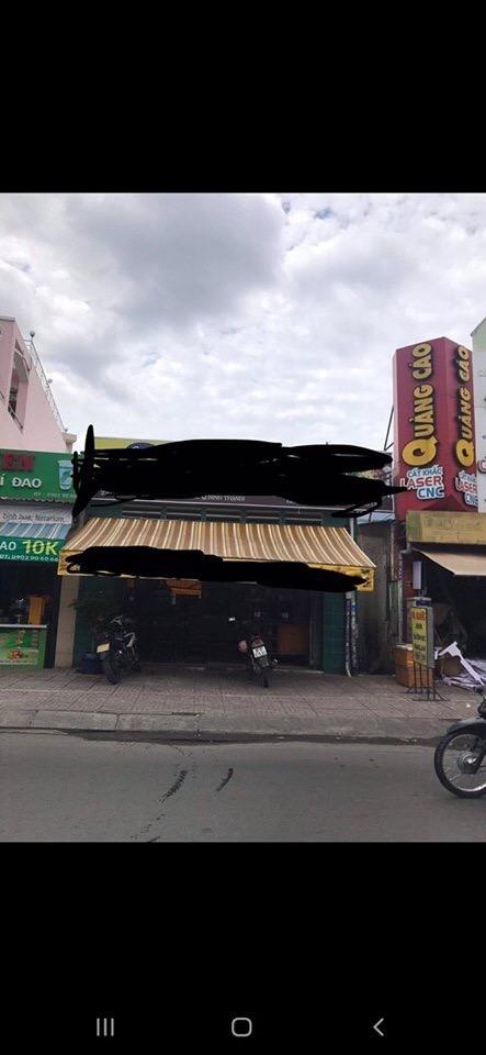 Bán nhà mặt tiền đường Nơ Trang Long