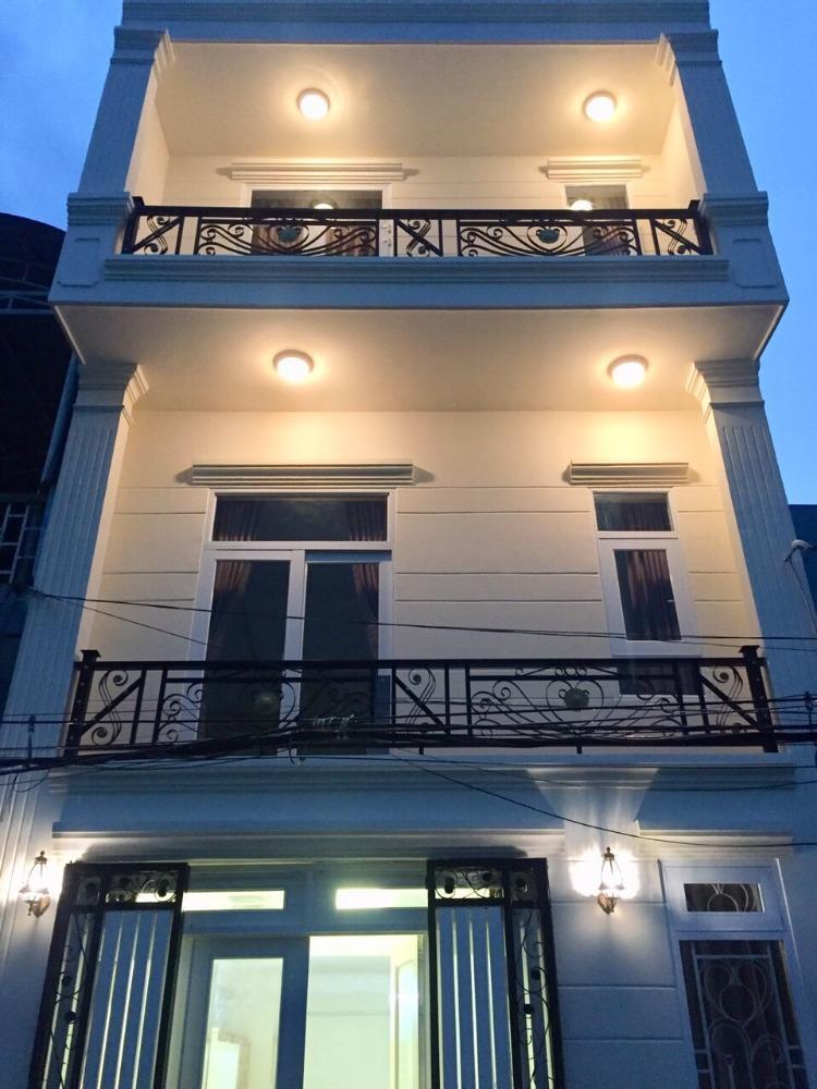 Bán nhà 1 trệt 2 lầu ở Võ Thị Hồi-Hóc Môn rộng 65m2.Giá 1 tỷ 280tr.SHR
