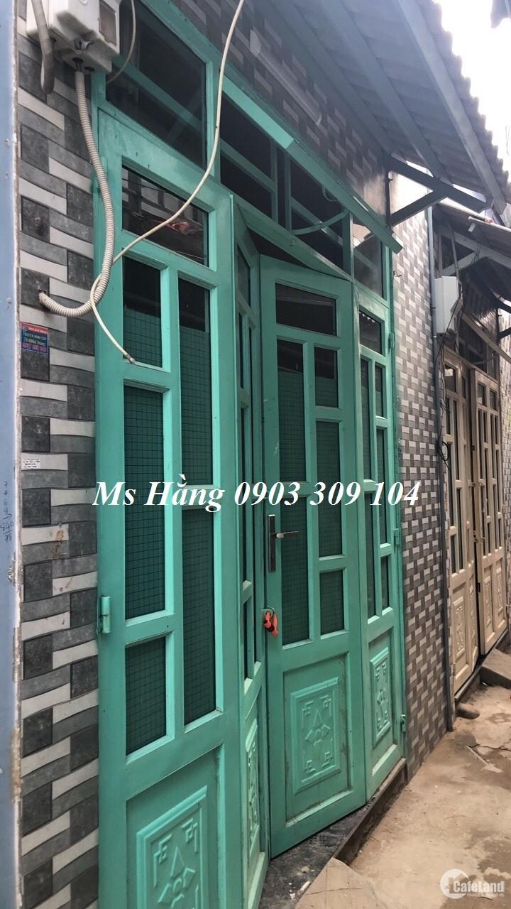 Nhà bán phường Hiệp Thành, Q.12 diện tích 3x5
