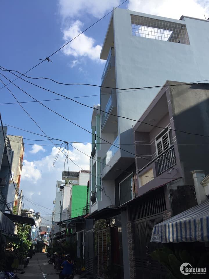 Nhà 1 lầu đường số 5 Phường Bình Hưng Hoà gần ngay siêu thị Aeon