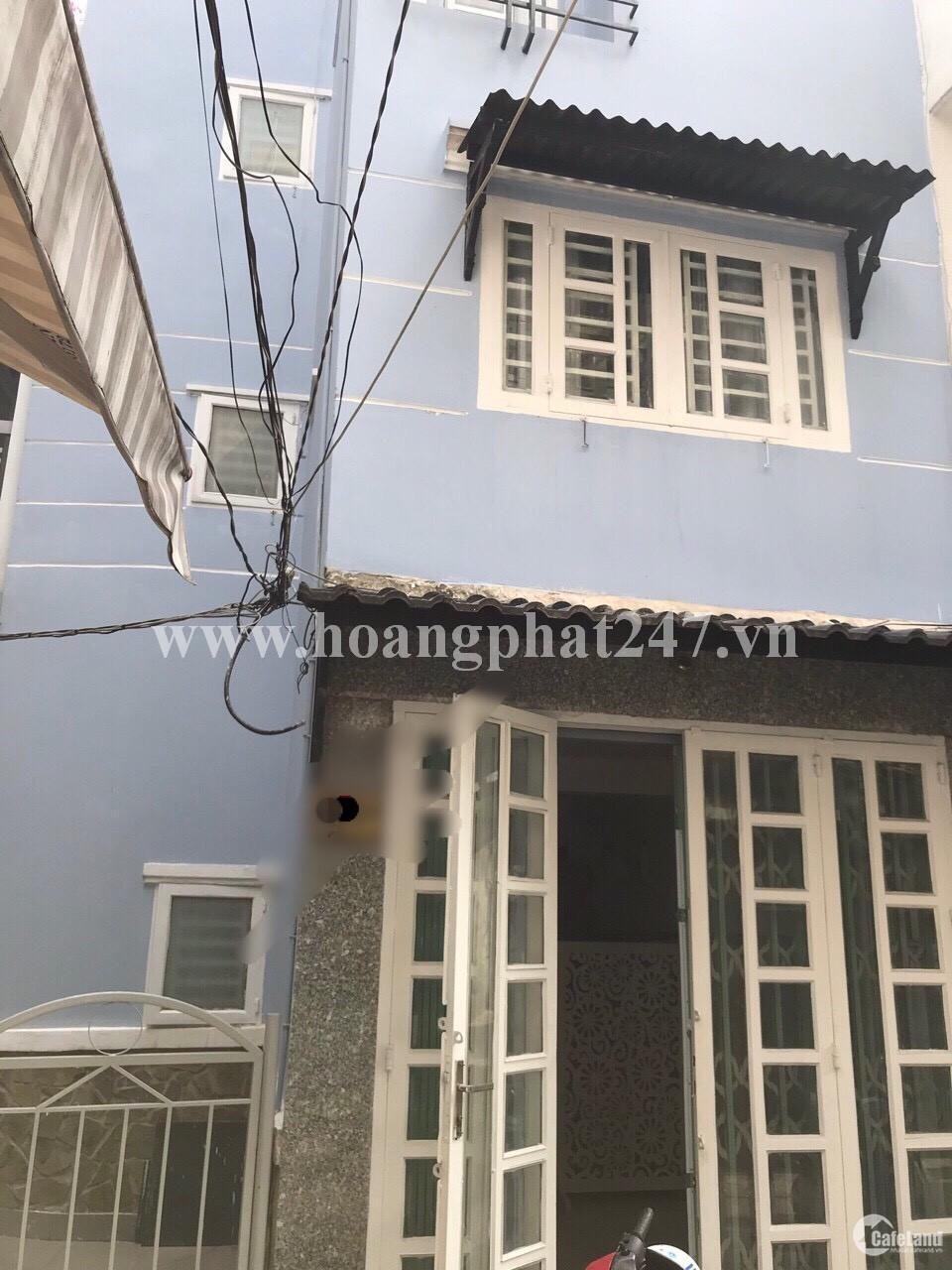 Bán nhà hẻm 1 trục Nguyễn Thượng Hiền, P5, PN, 3x7m