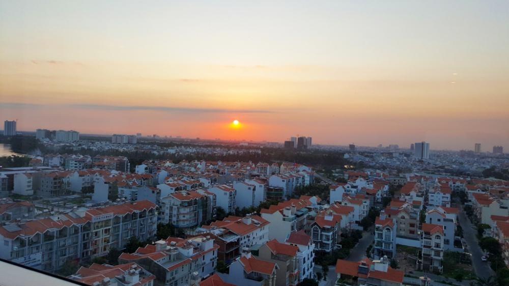 Cho thuê căn hộ Sunrise City, khu Central, Q7, full nội thất, 2pn, 2wc, 76m2, gi