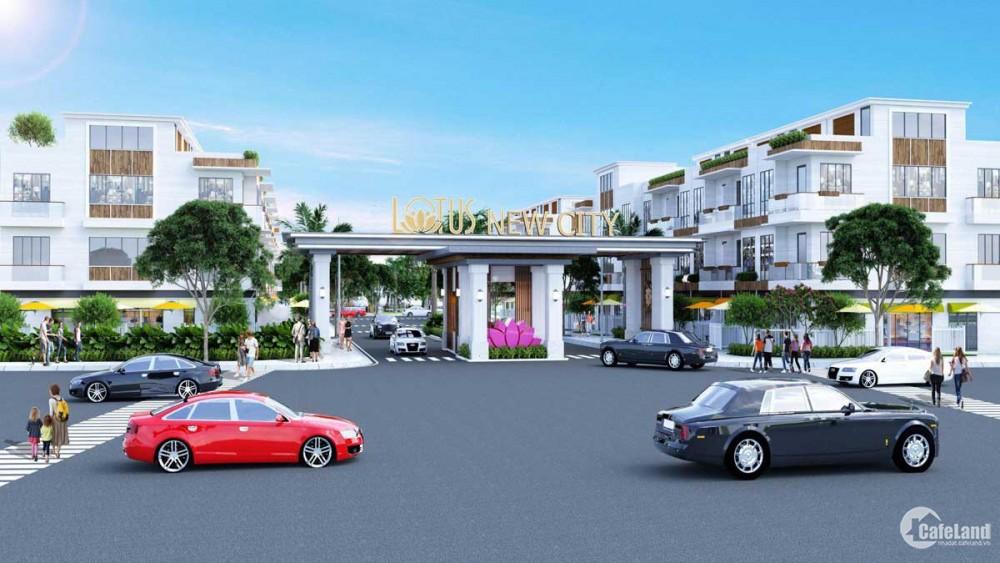 Lotus New City. Mở bán giai đoạn đầu, giá F0. Ck 5%. Gọi ngay: 03789.28181