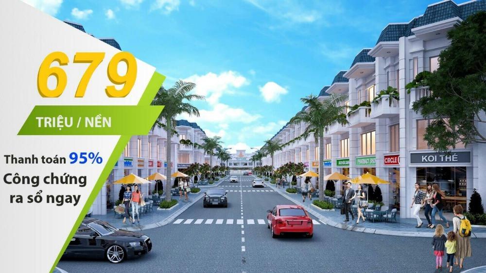 Dự án duy nhất ở Long An, chỉ 689 Triệu/Nền. Đầu tư lời ngay 100tr.