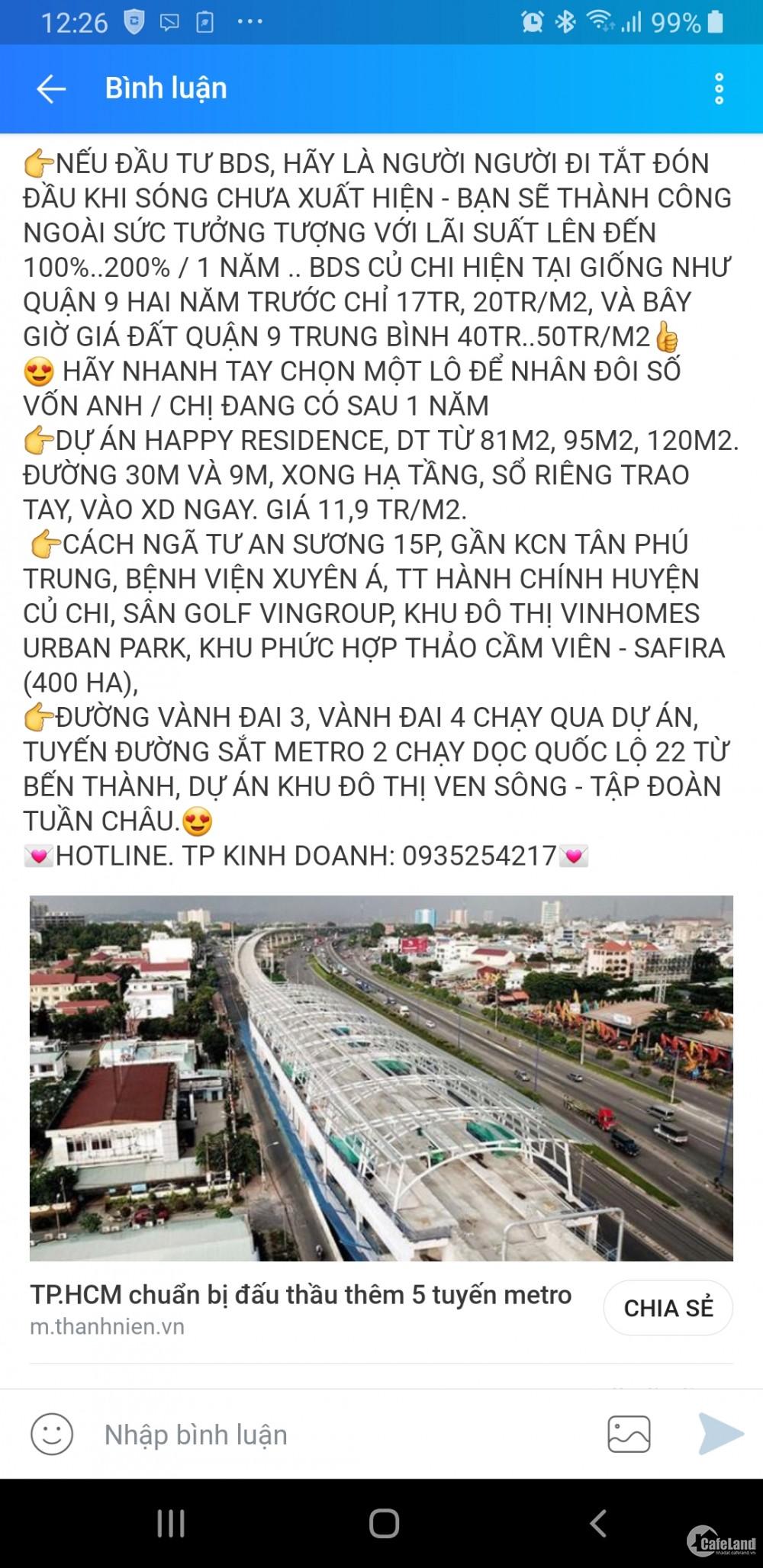Cơ Hội Đầu Tư Đất Nền Giá Rẻ Nhất Sài Gòn