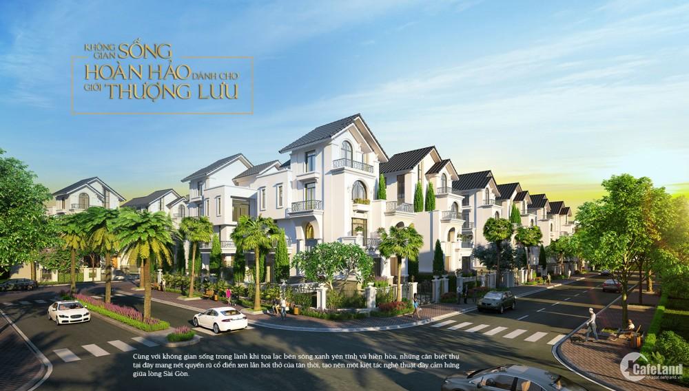 Chính chủ gửi bán nền 7x20m dự án biệt thự Saigon Mystery Villas Quận 2 giá tốt