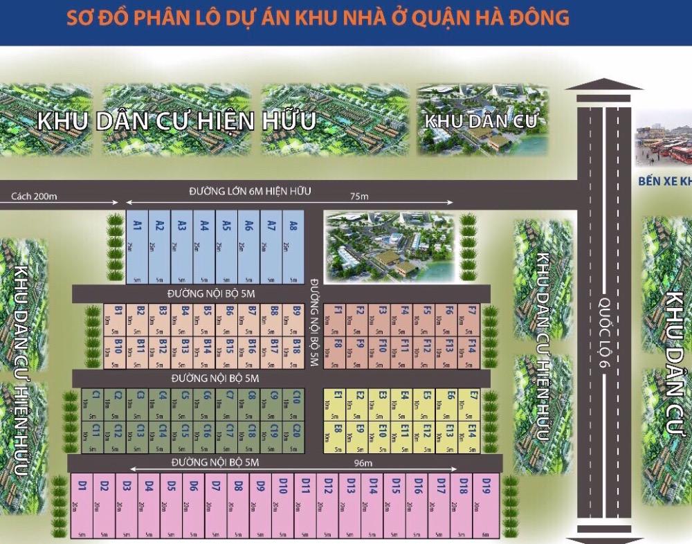 Cơ hội sở hữu đất nền với giá cực kỳ ưu đãi tại Hà Đông