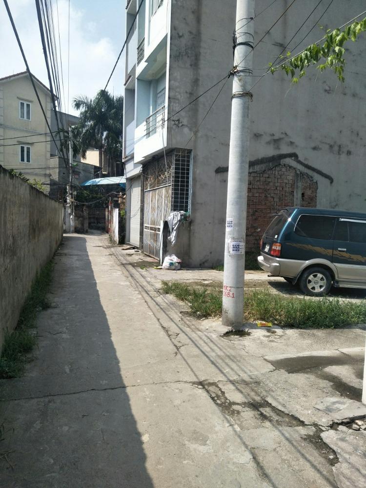 Bán đất tại an trai, xã vân canh 46m2 ô tô đỗ cửa lô góc