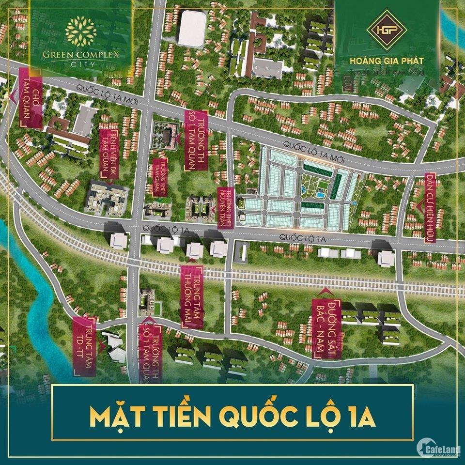 đất nền dự án green complex city- giá hấp dẫn chiết khấu cao