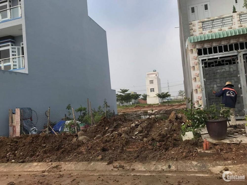 Bán Đất 130m2, SHR Thổ Cư 100%, KDC Thành Phố Mới - Lê Minh Xuân - Bình Chánh