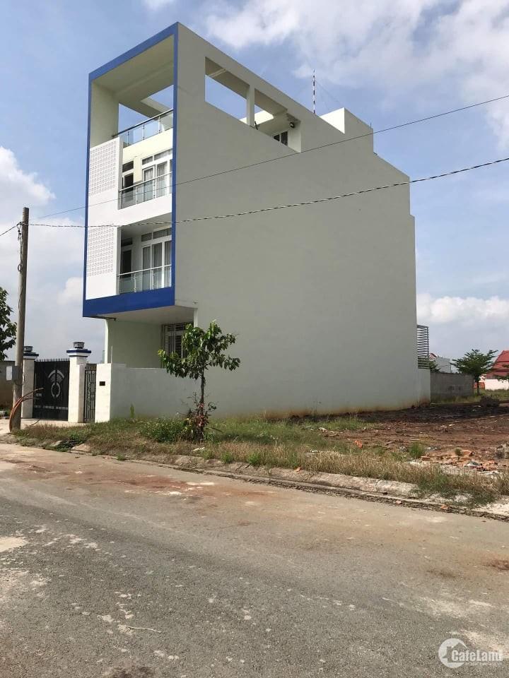 Bán Mấy Lô Đất KDC Thành Phố Mới - Lê Minh Xuân - Bình Chánh, DT 80m2, 100m2 SHR