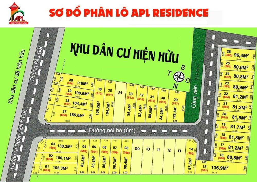 Đất bình chánh,xã Tân Kiên mặt tiền Bầu Gốc,cách QL1A 50mSHR