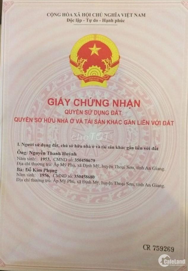 Nền thổ cư Tp Long Xuyên, An Giang - 88.8m2 - 750 trđ