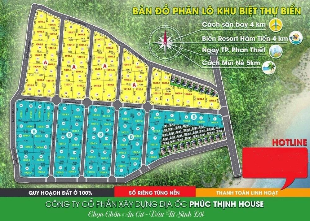 Chính chủ bán đất Thiện Nghiệp, 2 mặt tiền diện tích 1000m giá chỉ có 1,2tr/m