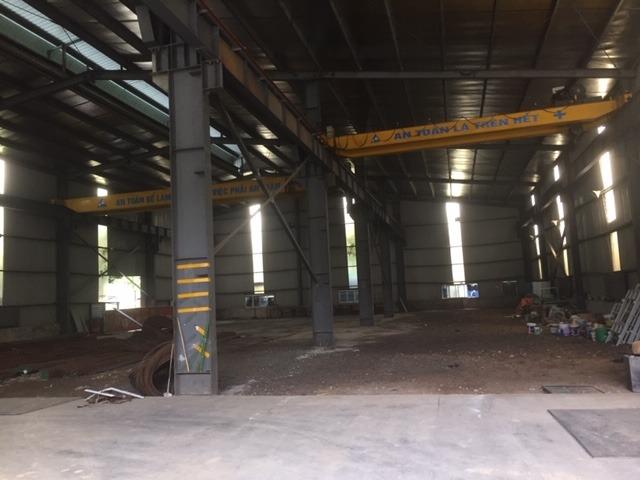 Cho thuê kho xưởng DT 1500, 2200m2 Hồ Tùng Mậu, Cầu Giấy, Hà Nội.