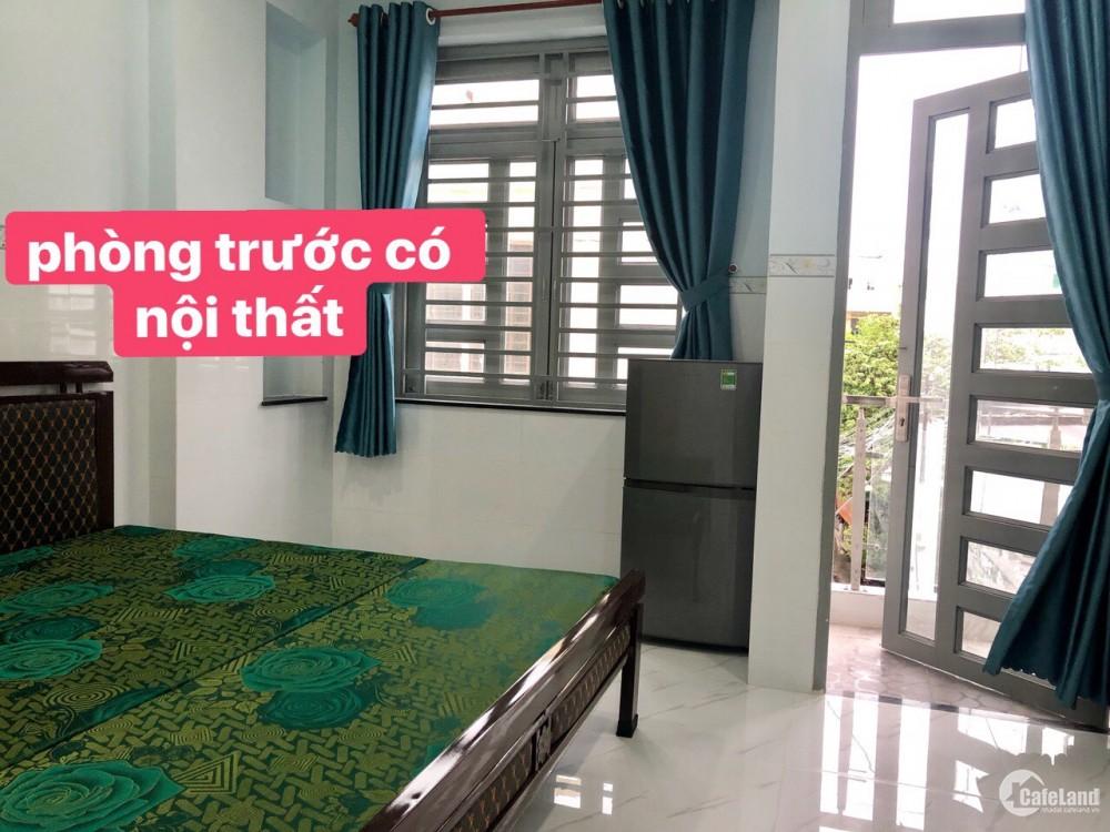 Cho thuê phòng trọ mới xây tại quận Bình Thạnh, giá tốt.