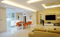 Căn Penthouse Saigon Pearl 223m2 4PN 2 tầng đầy đủ nội thất
