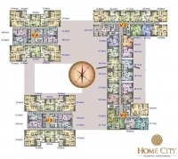 Bán chung cư V3 tại Home city 177 trung kính