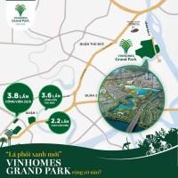 Nhận giữ chỗ phân khu 2  siêu dự án Vinhomes Grand Park quận 9  LH   0368126168