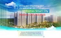 Bán Vinhomes Smart City, Vị trí đắc địa, Đại đô thị thông minh đầu tiên Việt Nam