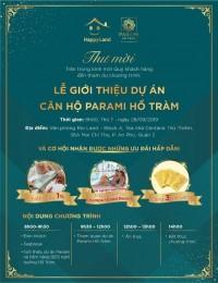 Event giới thiệu Resort 5* Parami Hồ Tràm 28/9 - Quà tặng lên tới 500tr