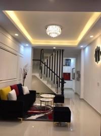 Bán gấp nhà,Lê Quang Định,SHR,HXT,DT 4x15,nhà mới,giá 6ty4.