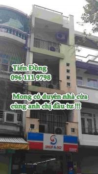 MT Yersin mới bán 4.2x25, 90m2 giá 42 tỷ, nhà 1T 4L gần Lê thị hồng gấm rất đẹp