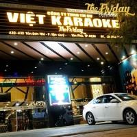 Bán tòa nhà KRAOKE  Friday Đường Tân Sơn Nhì  Q,Tân Phú  DT 10x35m đúc 8 tấm