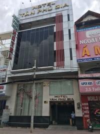 Bán khách sạn MTKD Gò Dầu Q.Tân Phú  DT  10x16m  1 trệt 5 lầu   Gía 35.5 tỷ TL
