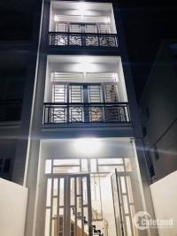 Bán nhà 54m2,4 lầu,hẻm xe hơi Trần Bình Trọng Phường 5 Quận Bình Thạnh