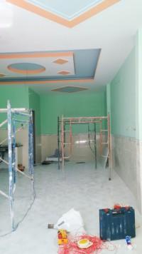 Bán nhà 1 trệt 1 lầu thiết kế đẹp tại Thanh Phước Gò Dầu