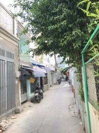 Bán nhà đang hoàn thiện hẻm 296 Huỳnh Tấn Phát quận 7.