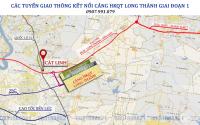 Central Mall Cát Linh Long Thành, MT Quốc Lộ 51, cạnh chợ Mới, 4 mặt sầm uất