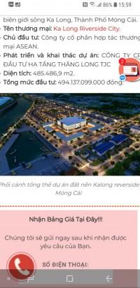 Bán đất sổ đỏ tại TP Móng Cái,cơ hội tăng giá trị đến hơn 50%/năm