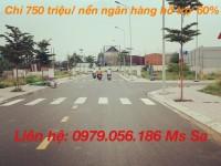 Mở bán dự án siêu hot tại TX Thuận An, DT 60M2 giá chỉ 750 triệu/ nền đã có sổ