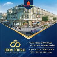 Siêu dự án ICON CENTRAL  H.Dĩ An  Bình Dương   75-100m2  giá chỉ từ 2.28 tỷ/lô