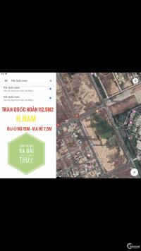 Cần bán lô đất đường Trần Quốc Hoàn Đâm thẳng ra bãi tắm Sơn