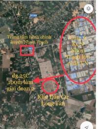 chính chủ cần bán đất  KDC Long Tân City, Nhơn Trạch, 7,5 triệu/m2, SHR
