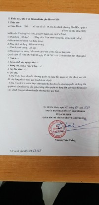 Chính chủ bán đất quận 9, phường Phú Hữu