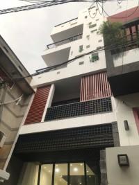 Cần cho thuê tòa nhà MT Trần Văn Dư, P13, TB. Hầm 7 lầu, 6x36m. KD tự do. 150tr