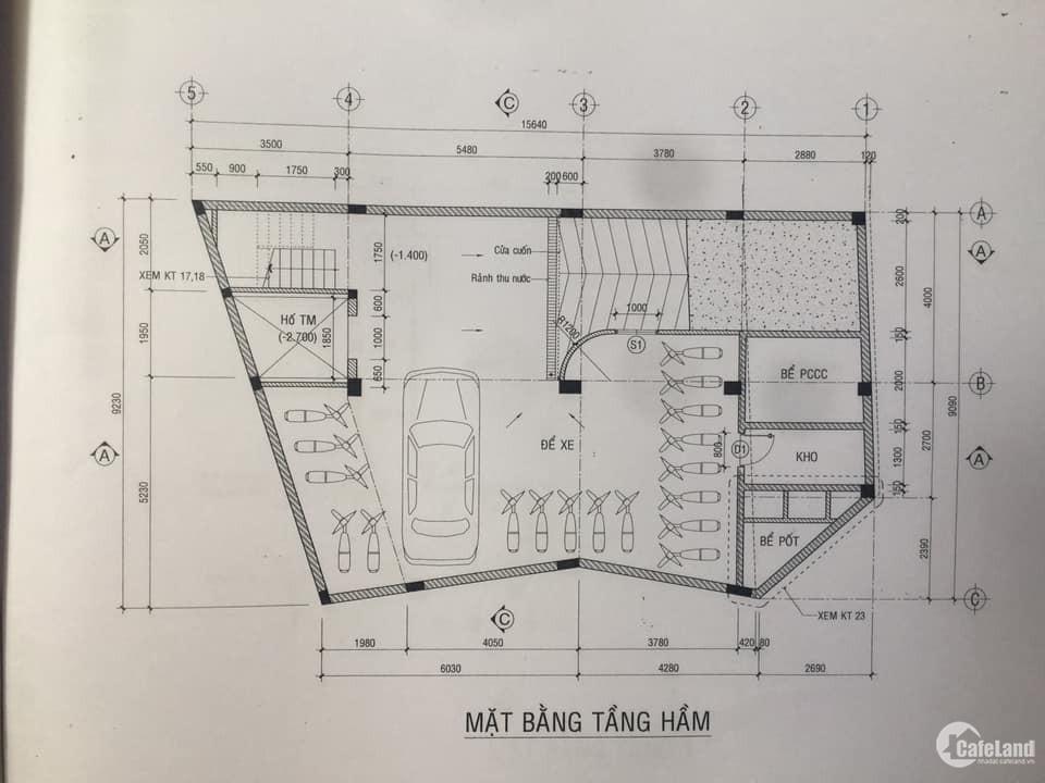 cho thuê Building mặt tiền Nguyễn Văn Đậu, P5, Q.BT