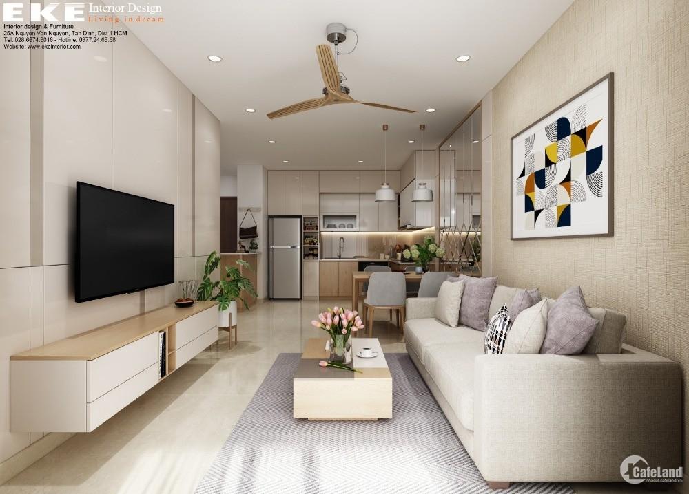 Căn hộ, nhà chung cư q8 2PN, nhận nhà ở ngay, sổ hồng vĩnh viễn, hỗ trợ vay 70%