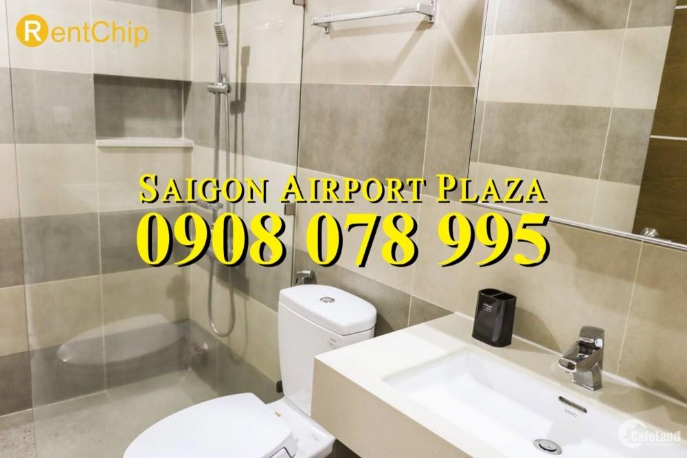 Bán Căn hộ Saigon Airport Plaza 2PN - 9m2, đủ nội thất, tầng cao, giá 3.95 tỷ