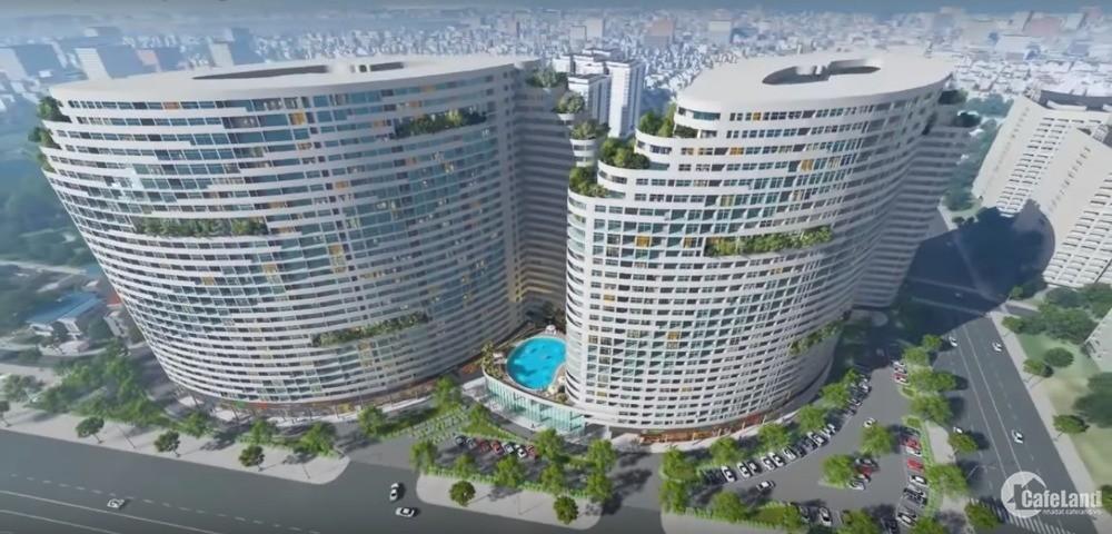Bán nhanh căn hộ 1PN chung cư cao cấp Gateway Vũng Tàu, tầng trung, view biển.