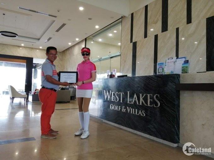 Biệt Thự 10x20 view sân Golf West Lake, giá chỉ 3.5 tỷ, full nội thất.