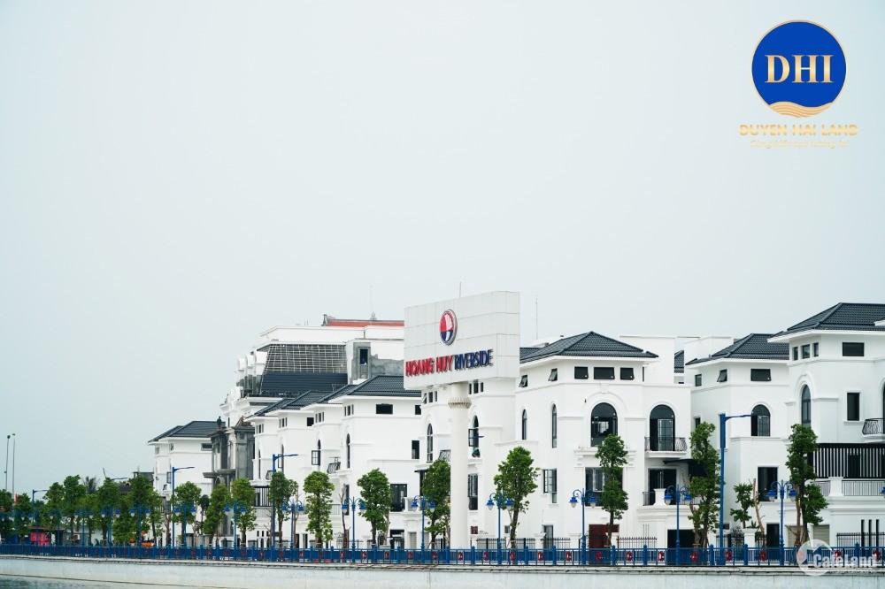 Chỉ 1,7 tỷ sở hữu ngay nhà liền kề view sông tại Hoàng Huy Riverside