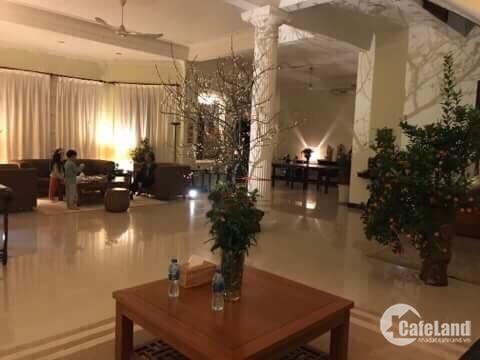 Bán gấp Biệt Thự Tại Tô Ngọc Vân, Hồ Tây, Quảng An, Tây Hồ.460m2.
