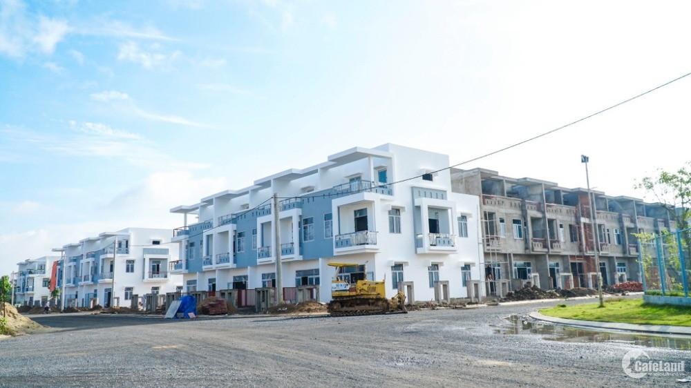 Thanh lý nhà riêng mặt tiền QL 1A sổ hồng riêng,Vietcombank hỗ trợ 60%